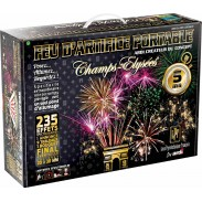 Feu d'artifice total, portable 5 minutes LUXE