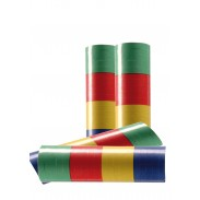 Serpentins multicolores, paquet de 20 rouleaux.