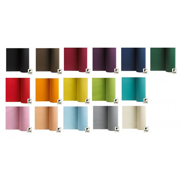 Chemin de table t te t te non tiss intiss couleur - Set de table intisse ...