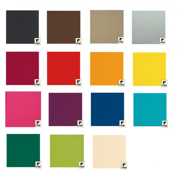 Serviettes en non tiss intiss 40x40 couleur maison deff s - Set de table intisse ...