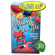 Hélium Station Gonflage 30 ballons